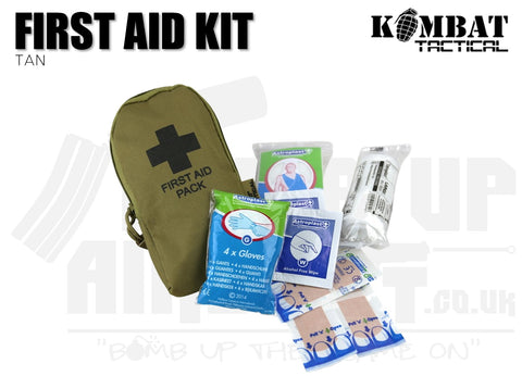 Kombat UK First Aid Kit - Tan