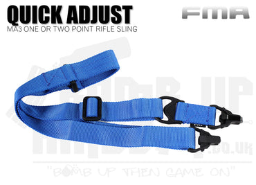 FMA MA3 One or Two Point Sling - Blue