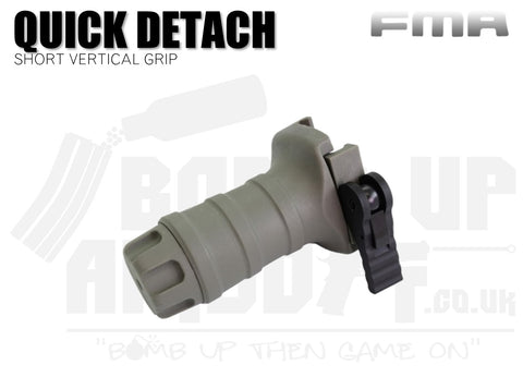 FMA Short Vertical Grip - Quick Detach - FG