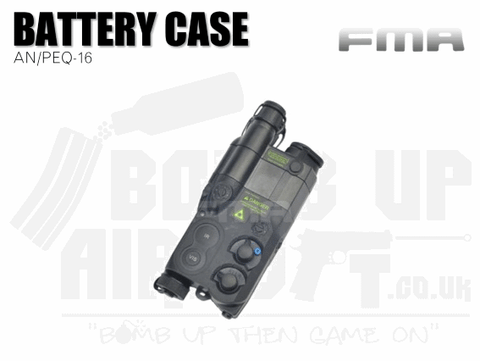FMA AN PEQ 16 Battery Case - Black