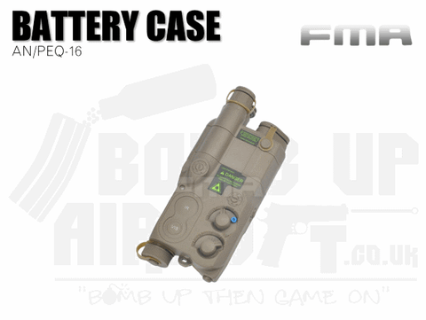 FMA AN PEQ 16 Battery Case - Tan