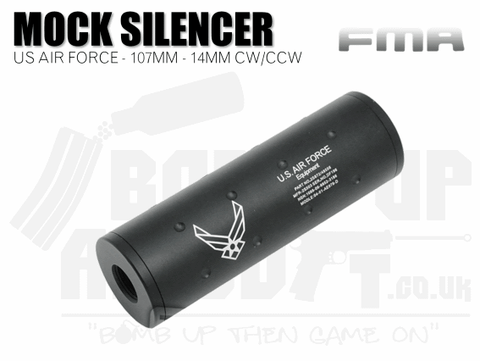 FMA + / - 14mm 107mm Silencer - US Airforce