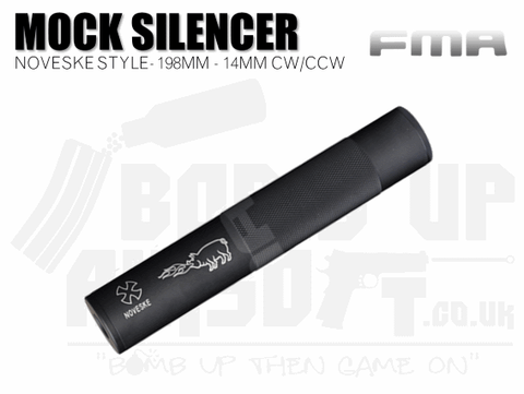 FMA + / - 14mm 198mm Silencer - Noveske