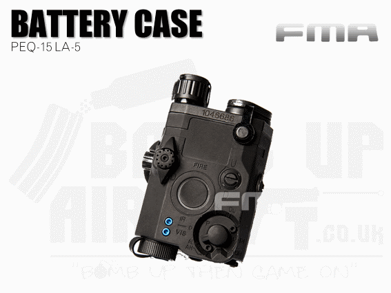 FMA PEQ 15 LA-5 Battery Case - Black