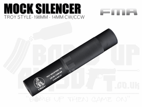 FMA + / - 14mm 198mm Silencer - Troy