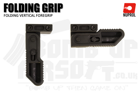 Nuprol Folding Foregrip V2 - Black