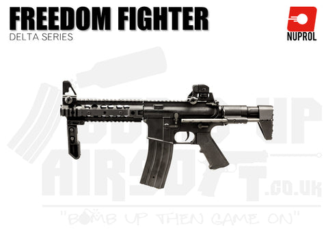 Nuprol Delta Series - Freedom Fighter - Black