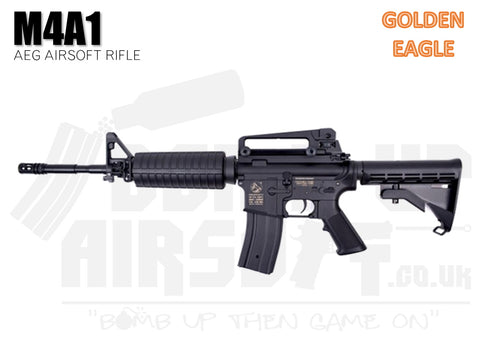 Golden Eagle M4A1 AEG Airsoft Rifle