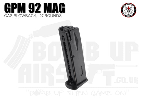 G&G GPM92 Spare Magazine - 27 Rounds