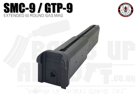 G&G GTP9 / SMC-9 Series Extended Gas Magazine - 50 Round Mag