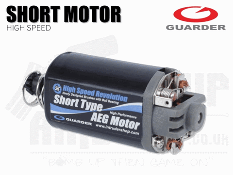 GUARDER SHORT HIGH SPEED MOTOR