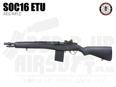 G&G SOC 16 ETU GR14 M14 AEG Airsoft Rifle