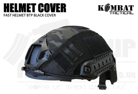 Kombat UK Fast Helmet Cover - BTP Black