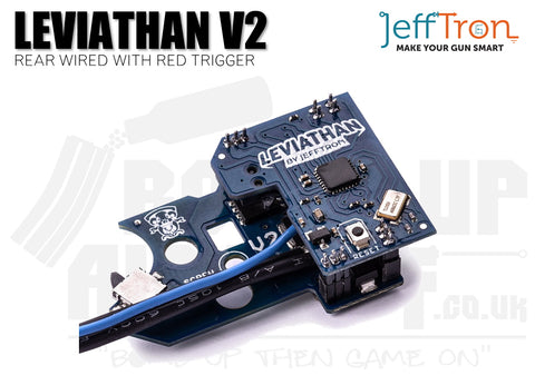 Jefftron Leviathan - V2 Rear Wired With Red Trigger