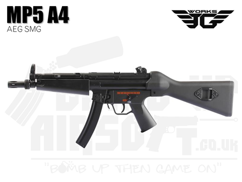 JG Works MP5 A4 AEG Airsoft SMG