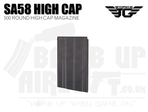 JG Works SA58 FAL High Cap Mag - 500 Rounds