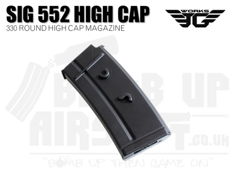 JG Works SIG 552/551/550 High Cap Mag - 330 Rounds