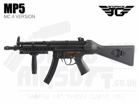 JG Works MP5 RIS MC-II AEG Airsoft SMG