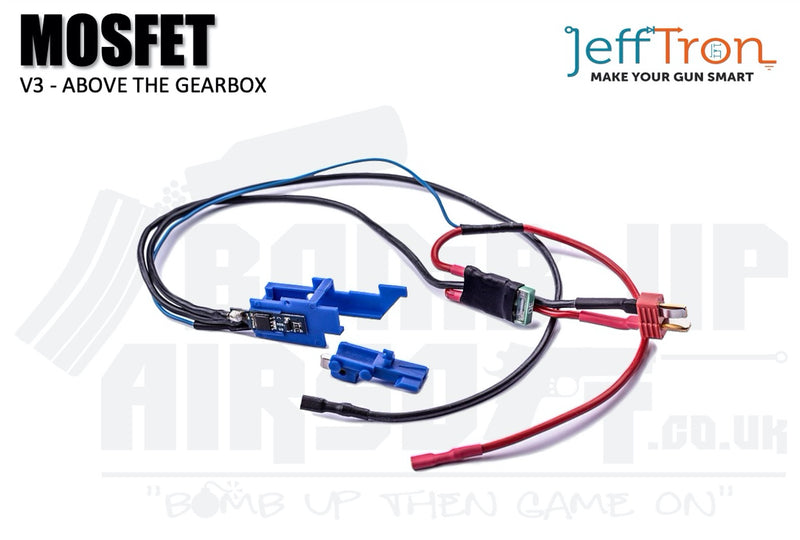 Jefftron MOSFET V3 Above the Gearbox
