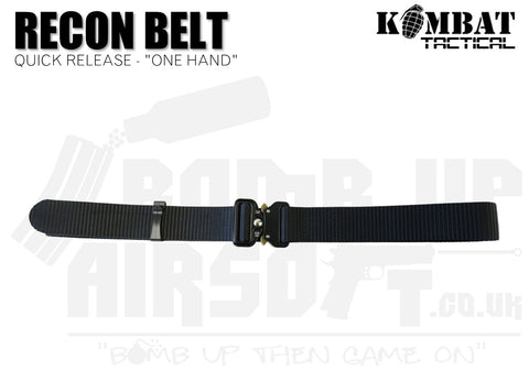 "Kombat UK Recon Belt ""One Hand "" - Black"
