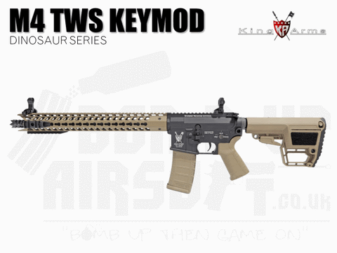 KING ARMS M4 AIRSOFT RIFLE