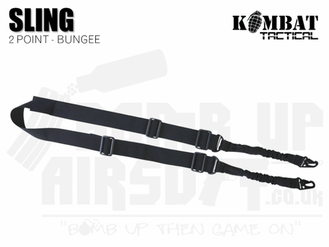 Kombat UK Double Point Bungee Sling - Black