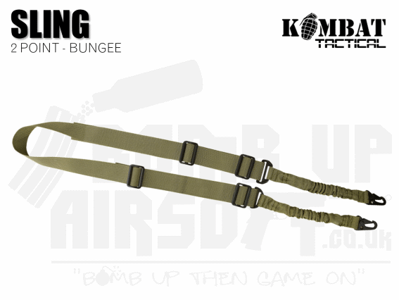 Kombat UK Double Point Bungee Sling - Tan