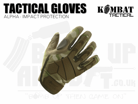 Kombat UK Alpha Tactical Gloves - MTP - Various Sizes