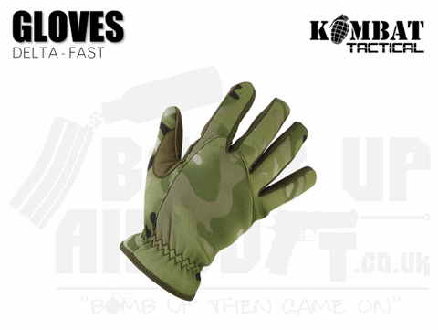 Kombat UK Delta Fast Gloves - MTP