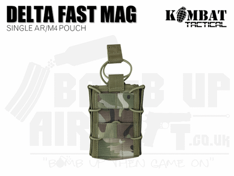Kombat UK Delta Fast Mag Single Pouch - MTP