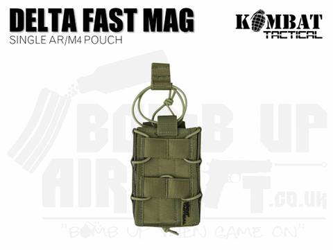 Kombat UK Delta Fast Mag Single Pouch - Tan