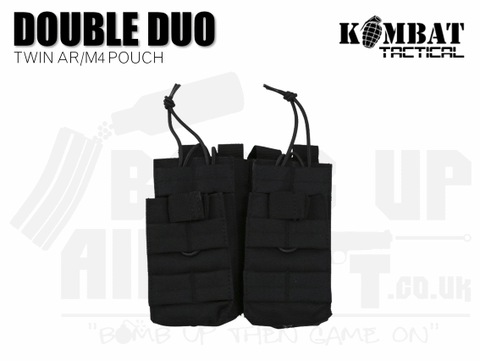 Kombat UK Double Duo Mag Pouch - Black