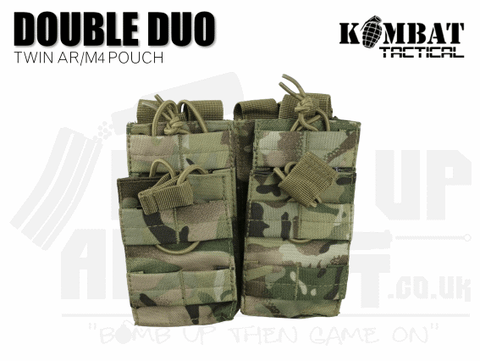 Kombat UK Double Duo Mag Pouch - MTP