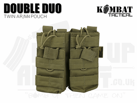 Kombat UK Double Duo Mag Pouch - Tan