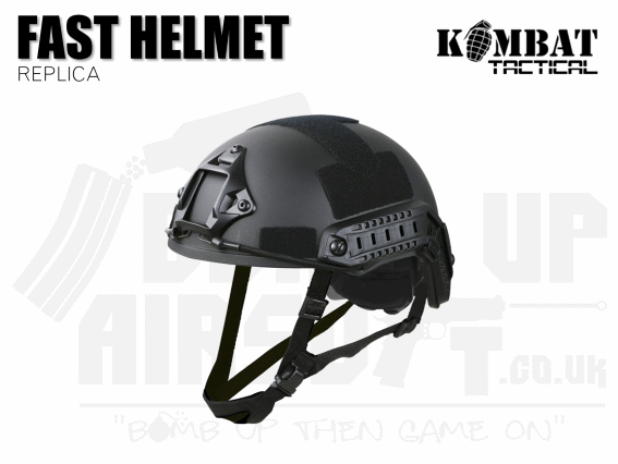Kombat UK Fast Helmet Replica - Black