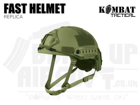 Kombat UK Fast Helmet Replica - OD Green