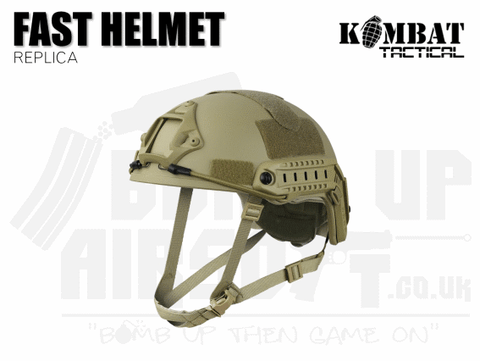 Kombat UK Fast Helmet Replica - Tan