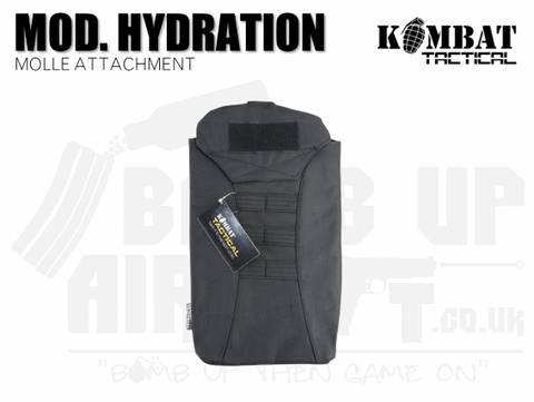 Kombat UK Modular Hydration Pouch - Black