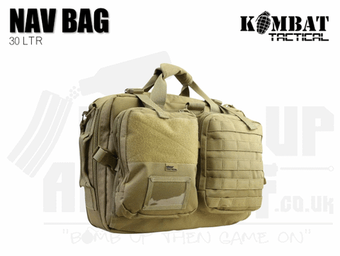 Kombat UK Navigation Bag 30 Litre - Tan
