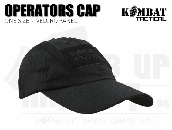 Kombat UK Operators Cap - Black