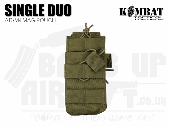 Kombat UK Single Duo Mag Pouch - Tan