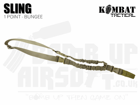 Kombat UK Single Point Bungee Sling - Tan