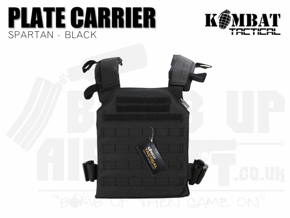 Kombat UK Spartan Plate Carrier - Black