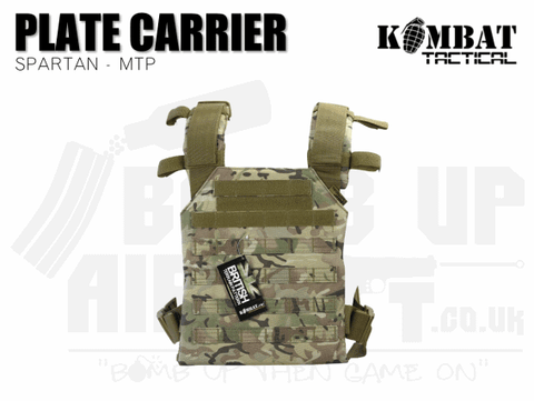 Kombat UK Spartan Plate Carrier - MTP