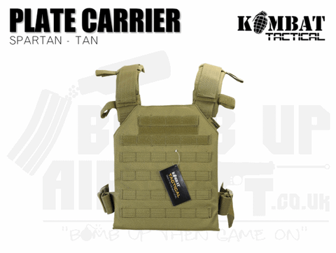 Kombat UK Spartan Plate Carrier - Tan
