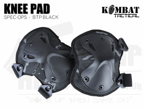 Kombat UK Spec-Ops Knee Pads - BTP Black