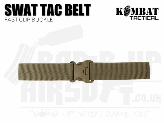 Kombat UK SWAT Tactical Belt - Tan