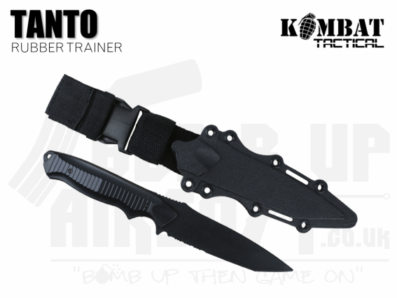 Kombat UK Tanto Plastic Airsoft Knife - Black
