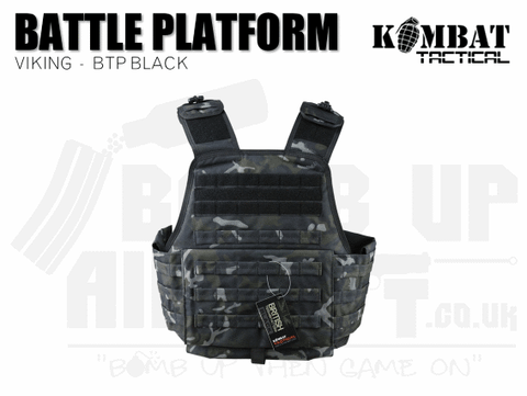 Kombat UK Viking Molle Battle Platform - BTP Black