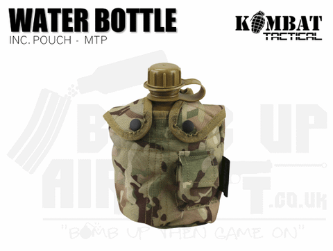 Kombat UK Water Bottle - MTP
